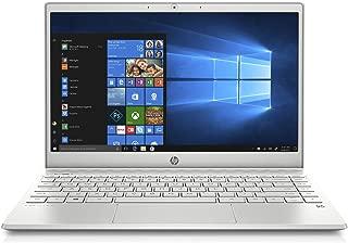 HP Pavilion 13-an0007ne Laptop, Intel Core i7-8565U, 13 Inch, 256 GB SSD, 8GB RAM, Intel UHD Graphics, Win 10, Eng-Ara KB, Silver