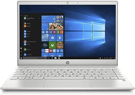 HP Pavilion 13-an0008ne Laptop, Intel Core i3-8145U, 13 Inch, 128GB SSD, 4GB RAM, Intel UHD Graphics, Win 10, Eng-Ara KB, Silver