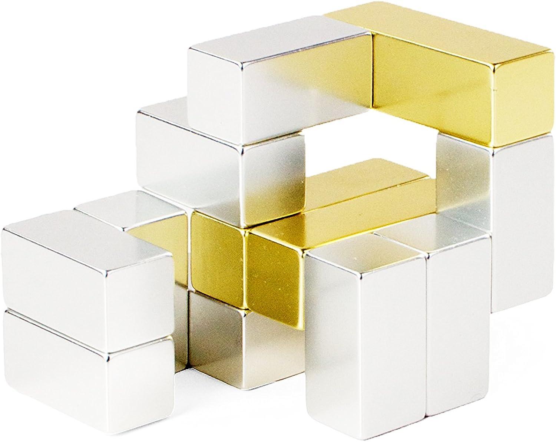 Venta en línea de descuento de fábrica Jugarable Jugarable Jugarable Art Juego educativo Mini Cubo Metálico (Dorado)  directo de fábrica