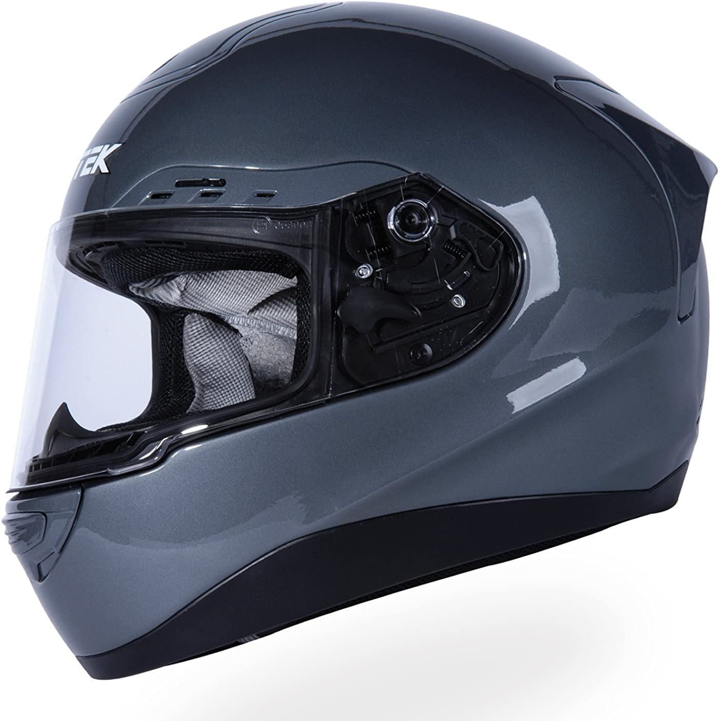 Austin Mall Nitek P1 Full-Faced Motorcycle Graphic Helmet Dimension Max 84% OFF Street