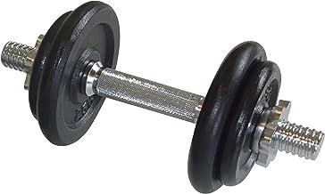 Schildkröt fitness korte halterset, 10,0 kg in ABS-kunststof koffer, 960012