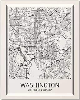 Best dc metro map print Reviews