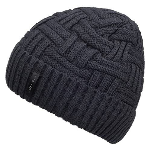 0f90b7ddd6a Spikerking Mens Winter Knitting Wool Warm Hat Daily Slouchy Hats Beanie  Skull Cap