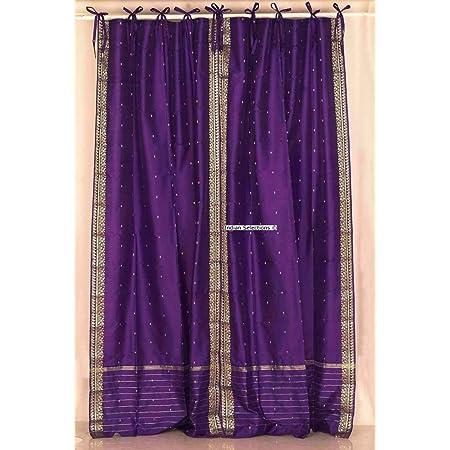 mogul interior indian sari curtains