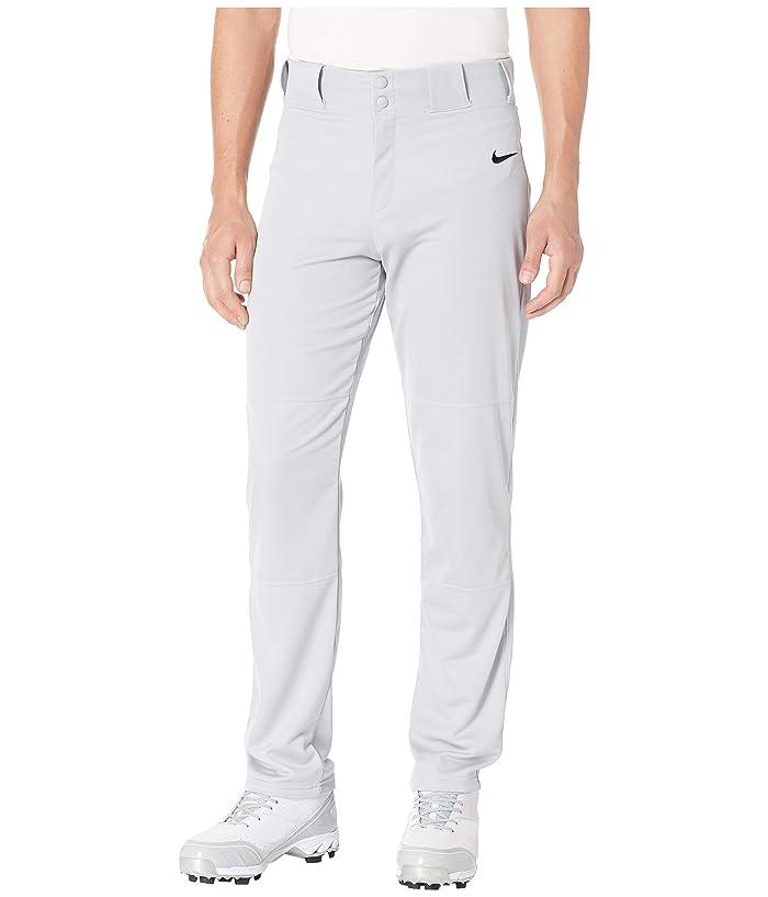 Nike Core Baseball Pants (Wolf Grey/Black) Men