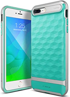 Caseology Parallax for Apple iPhone 8 Plus Case (2017) / for iPhone 7 Plus Case (2016) - Award Winning Design - Mint Green