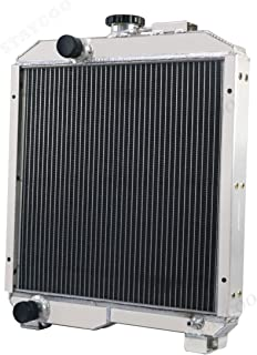 STAYCOO 2 Row All Aluminum Radiator for Ford New Holland 1715 & SBA310100630, 579337M92 Tractor