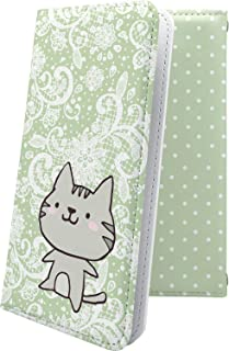 IS02 / T-01A マルチタイプ マルチ対応ケース ケース 手帳型 猫耳 ねこみみ 動物 動物柄 アニマル どうぶつ アイエス ティー 手帳型ケース ねこ 猫 猫柄 にゃー T01A is2 ドット 水玉