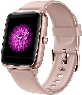 GRDE Reloj Inteligente Mujer, Smartwatch Hombre con Monitoreo del (Pulsómetro/Cardíaco/Sueño) Reloj 5ATM Impermeable con P...