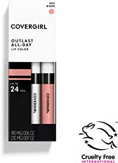 COVERGIRL Outlast All-Day Moisturizing Lip Color, Nude 593 [並行輸入品]