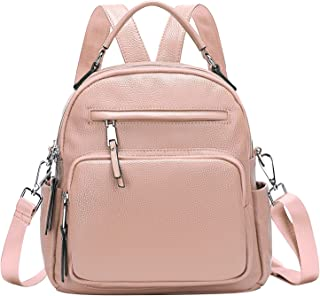 ALTOSY Women Backpack Purse Small Soft Leather Crossbody Shoulder Bag Four Ways to Carry