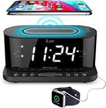 iLuv Morning Call 5 Qi-Certified Wireless Charging...