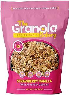 The Granola Bakery Keto Cereal | Low Carb Keto Granola | 1g Net Carb | Low Sugar Keto Snack | Keto Breakfast | Diabetic, K...
