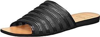 Dolce Vita Women's KATLEE Slide Sandal Black MESH 8.5 M US