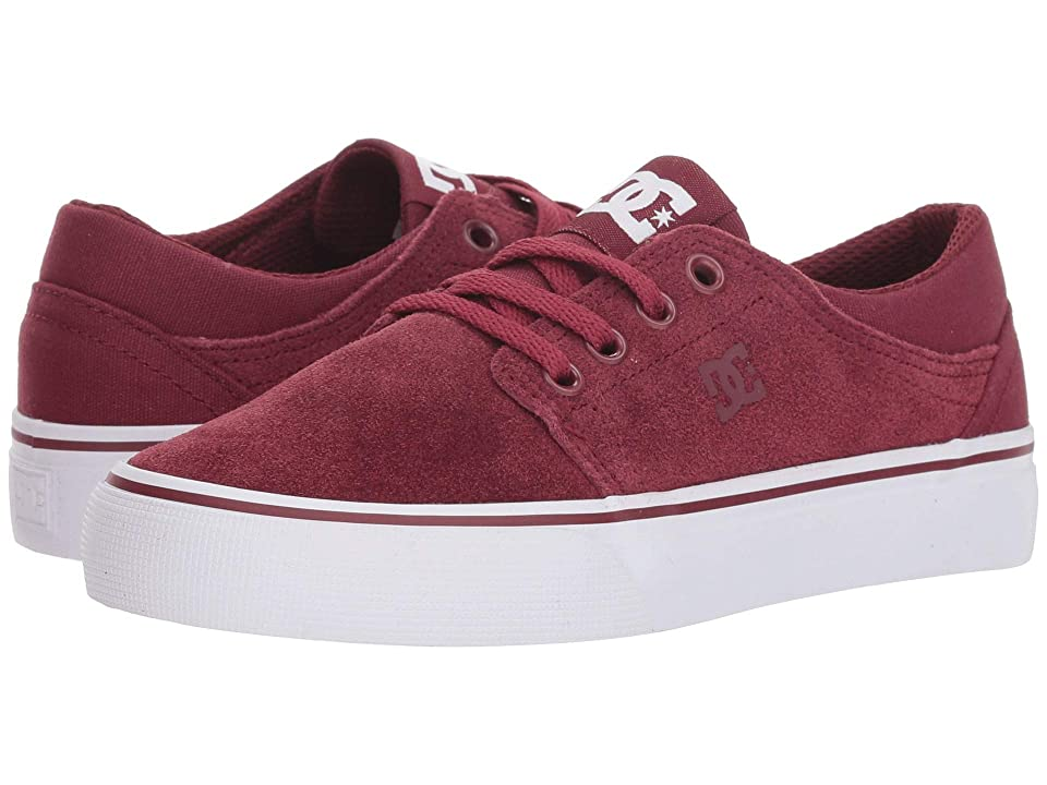 DC Kids Trase (Little Kid/Big Kid) (Burgundy) Girls Shoes