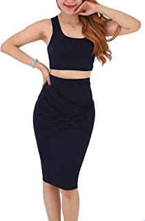 Best matching pencil skirt and crop top Reviews