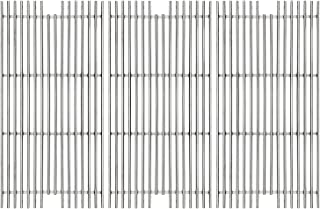 Hongso 304 Stainless Steel Gas Grill Grid Grates Replacement Part for Viking VGBQ 30 in T Series, VGBQ 41 in T Series, VGBQ 53 in T Series Gas Grill, SCD911 3 Pack