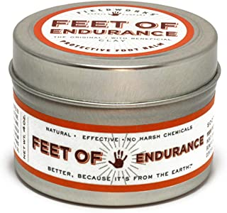 Therapeutic Healing Balm with Organic Essential Oils for Neuropathy and Arthritis Pain Relief. Anti-Fungal for Athletes Feet. Heals Dry-Cracked Skin by Feet of Endurance
