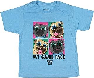 Puppy Dog Pals Disney Little Girls' Toddler Game Face Tee