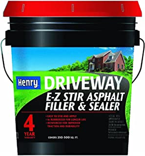 E-Z Stir Driveway Asphalt Filler/Sealer (4.75 gal - 2 Pack)