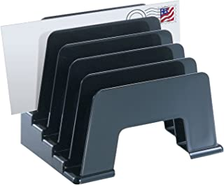 Officemate Recycled Incline Sorter, Black (26002)