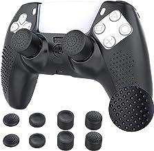 TiMOVO Cover Custodia Compatibile con PS5 Controller con 8 Copri Levette Analogiche, Playstation 5 DualSense Wireless Cont...