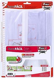 Grafoplas 1009700 Pack de 5 Couvertures livres ajustables 30 x 53