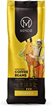Mondo Whole Bean Coffee, Medium Roast, 100% Arabica Colombia Single Origin, 7 oz – Non GMO, Kosher