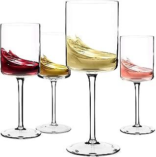 Best round wine glasses Reviews