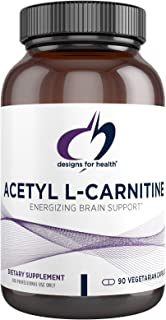 Designs for Health Acetyl L-Carnitine Capsules 800mg - Energizing Brain Support - Non-GMO, Vegetarian Acetyl L-Carnitine H...