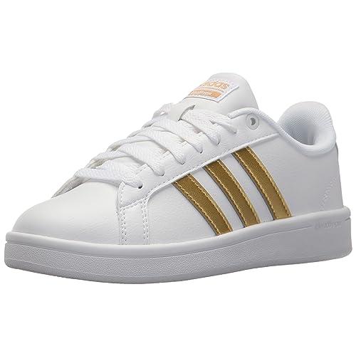 risparmi fantastici carino economico vero affare White and Gold adidas: Amazon.com