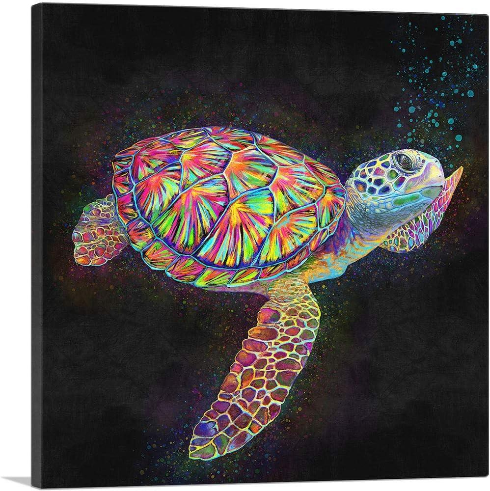 ARTCANVAS 70% OFF Outlet Sea Turtle Reptile New product type Canvas Art x Print 1.50