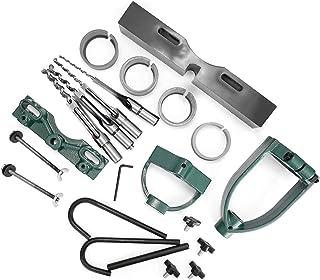 asx Kit de matériel pour porte de grange - Kit d'accessoires pour perceuse à tenon - Outil de conversion - Mortaise - Outi...