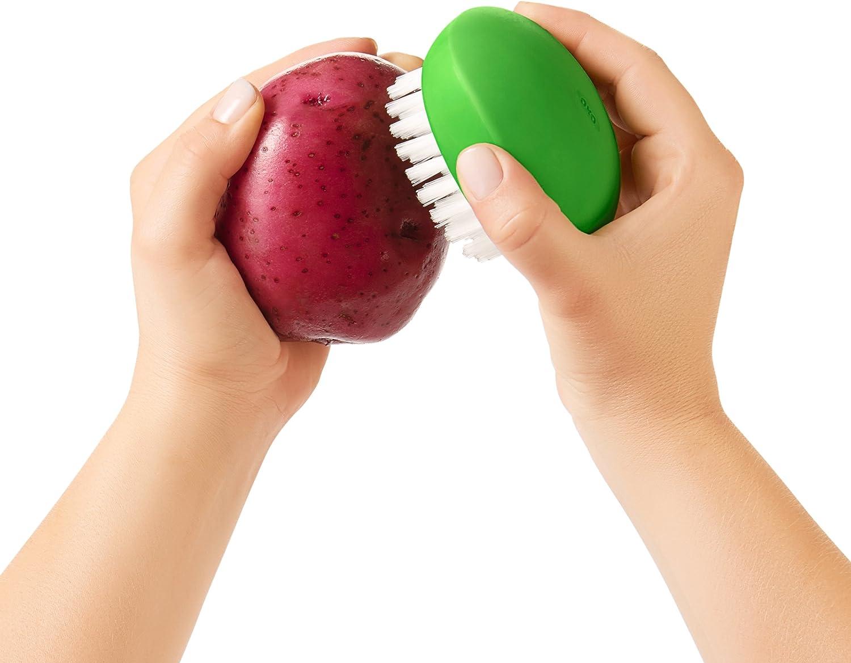 OXO Good Grips Vegetable Brush /& Good Grips Dish Brush