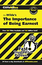 CliffsNotes on Wilde's The Importance of Being Earnest (CLIFFSNOTES LITERATURE)