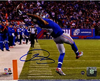 Odell Beckham Jr. Signed Close Up One-Handed Catch 8x10 Photo - Steiner Sports Certified - Autographed NFL Photos