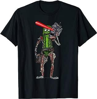 pickle rick laser t shirt