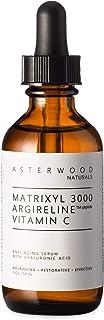 Matrixyl 3000 + Argireline + Vitamin C Serum with Organic Hyaluronic Acid 60ml - Reduce Sun Spots, Wrinkles, and Lines, Ou...