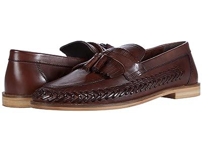 WALK London Arrow Loafer (Brown Leather) Men