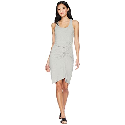 Splendid Shirred Dress (Heather Grey) Women