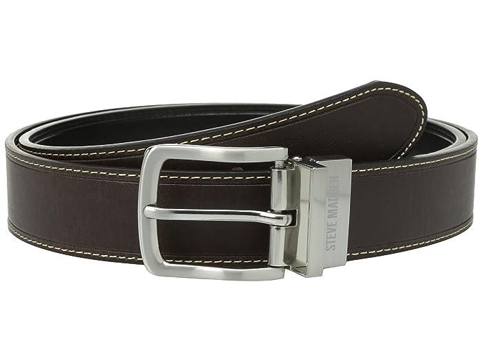 Steve Madden 35mm Oil Tanned Reversible Belt