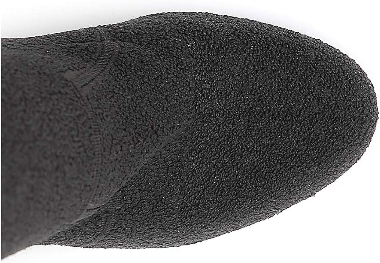 Cafè schwarz JHC903 JHC903 JHC903 Stiefel aus elastischem Stoff  768554