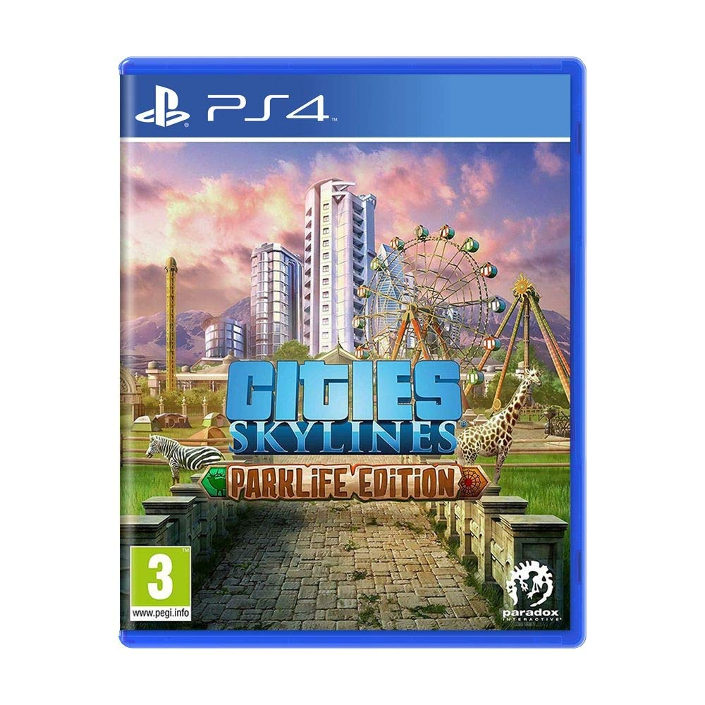 Cities Super sale period limited Skylines Parklife Edition Ps4 PS4 Regular store