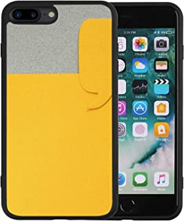 Glossy Case for iPhone 7/8 Plus, Fashion Protective Soft Cover for Girls Women Men Boys one Paper Dialog Box on Gray Background with Blank Empty Copy Space 183341375