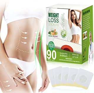 (90 PCS) Weight Loss Sticker, Slimming Quickly for Beer Belly, Buckets Waist, Waist Abdominal Fat, Burn Fat and Restore Slim Sticker