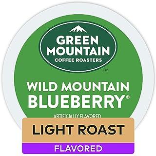 Green Mountain Coffee Roasters Wild Mountain Blueberry, Single-Serve Keurig K-Cup Pods,..