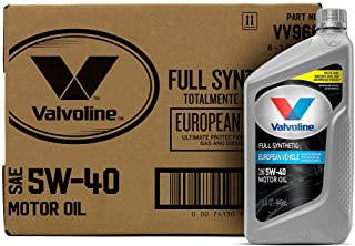 Best Valvoline 5W-40 MST SynPower Full Synthetic Motor Oil - 1qt (Case of 6) (VV966-6PK) Reviews