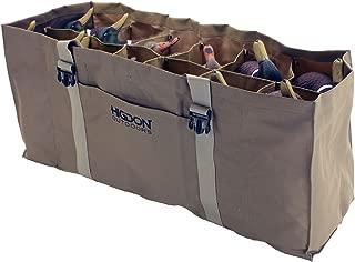 Higdon Outdoors 12-Slot Duck Decoy Bag, Mag to Super Mag, Brown