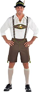 AMSCAN Mr. Oktoberfest Halloween Costume for Men, Extra Large, with Included Accessories