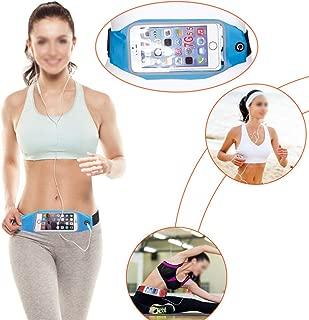 Sodin Effective Sports Running Waist Belt Jogging Gym Bag Case Cover Holder for Mobile ph BGVT